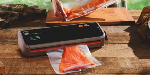 FoodSaver GameSaver Outdoorsman Food Preservation System Only $55.99 Shipped (Great for Fish & Game)