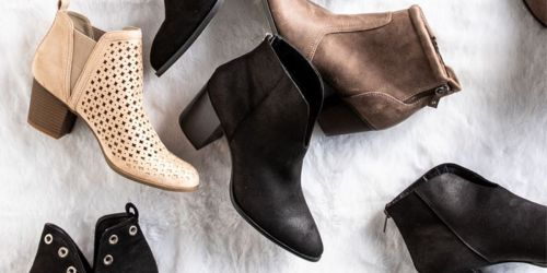Women's Boots Only $9.98 (Regularly $68) at Francesca's