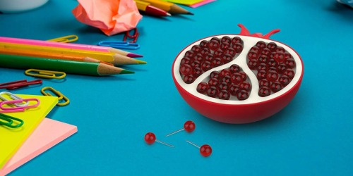 Fred & Friends Pomegranate Push Pin Holder Only $8 on Amazon & More