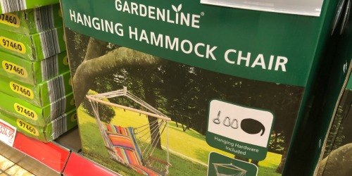 Hanging Hammock Chairs & Air Loungers Under $20 at ALDI