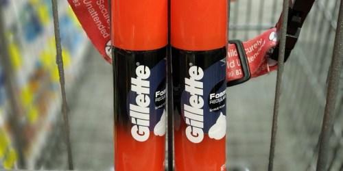 Gillette Foamy Shave Foam Just 59¢ Each After CVS Rewards