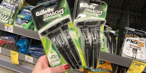 Up to $21 Off Gillette Disposable Razors After Walgreens Rewards