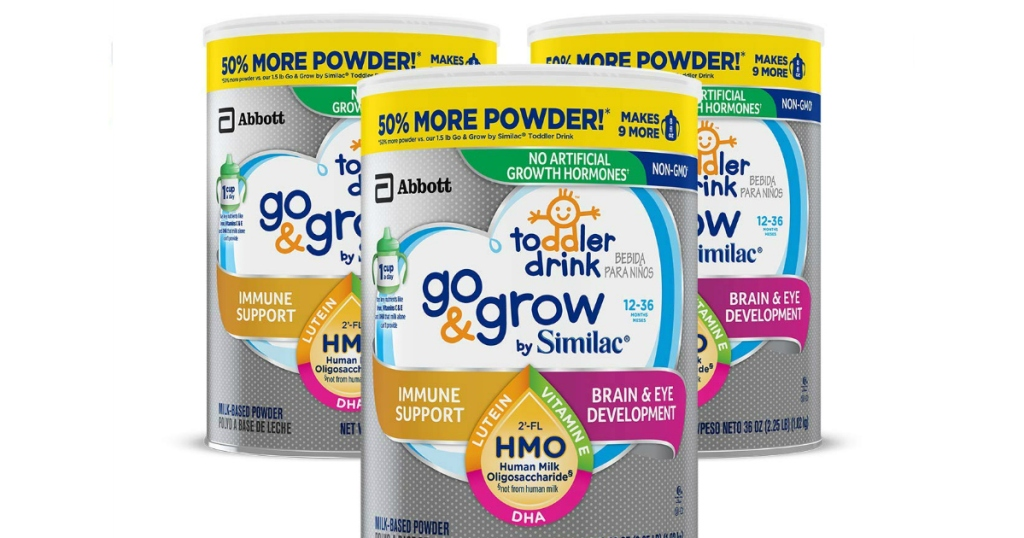 Go & Grow by Similac Non-GMO Toddler Milk-Based Drink