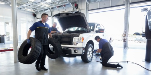 FREE Car Care Check for Military Customers at Goodyear