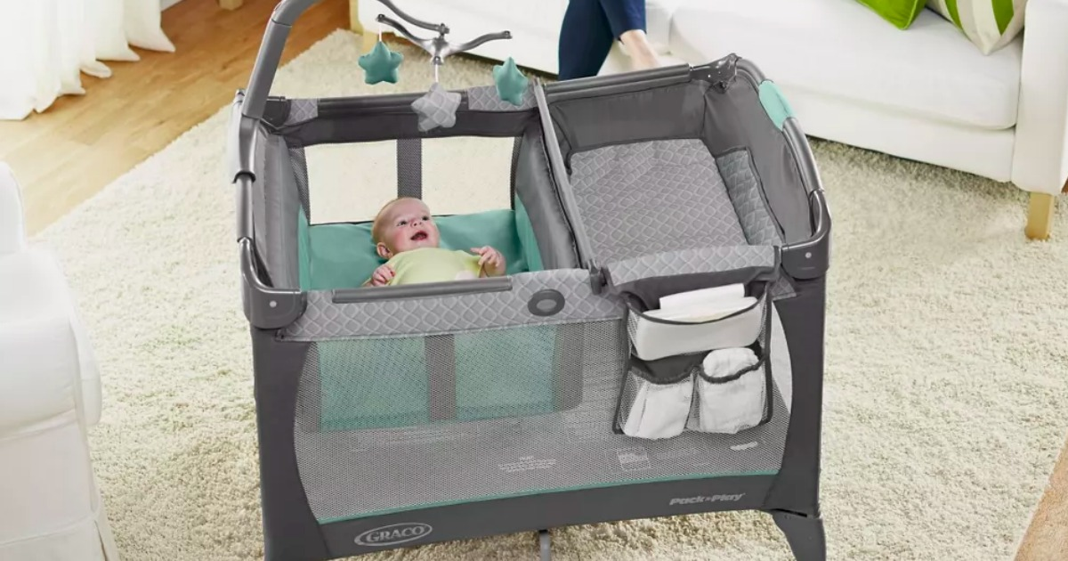 Graco Pack n Play with baby