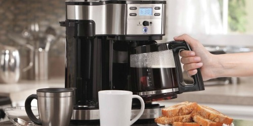 Amazon: Hamilton Beach 2-Way Brewer Coffee Maker Only $36.99 Shipped (Regularly $100)