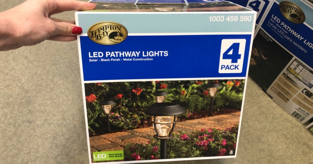 hampton bay pathway lights