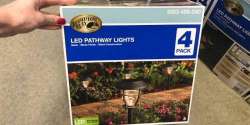 Hampton Bay Solar LED Pathway Light Multi-Packs Just $12.88 at Home Depot (Regularly $19)