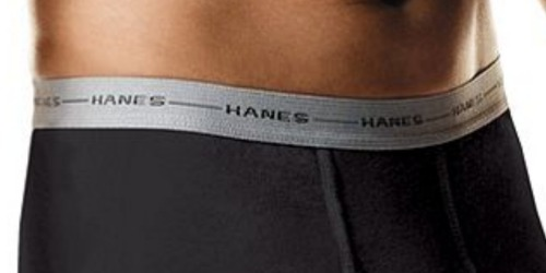 Hanes Men's Boxer Briefs 5-Pack Only $10.80 Shipped