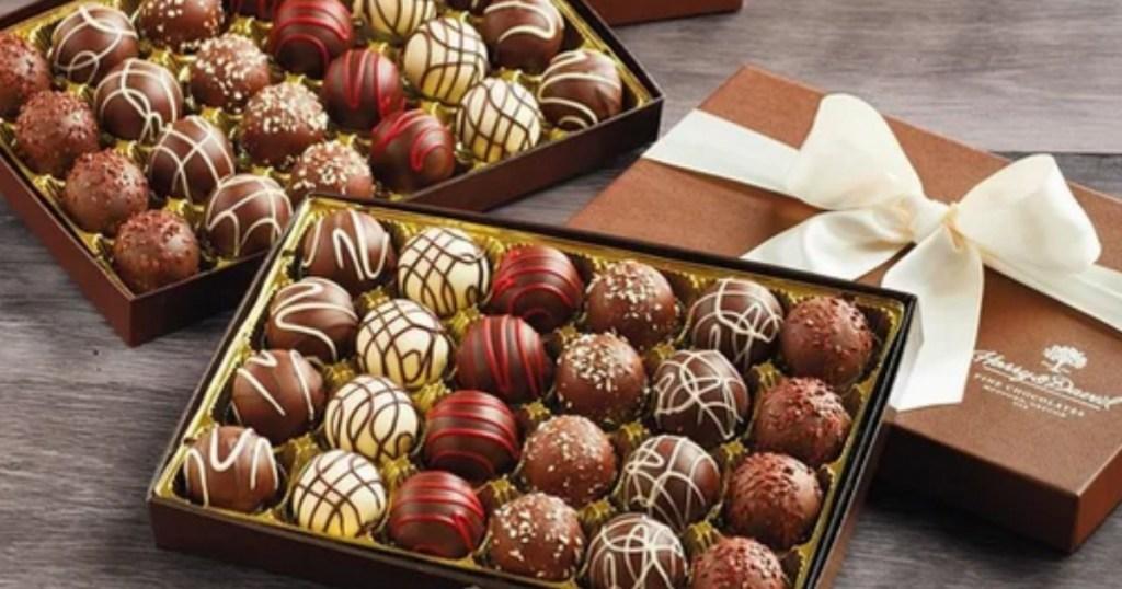 Harry & David 48-Count Deluxe Chocolate Truffles