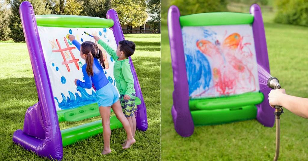 HearthSong Giant Inflatable Easel