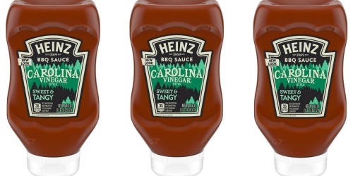 Heinz Carolina Vinegar Barbeque Sauce 6-Pack Just $5.91 Shipped (Only 99¢ Each)