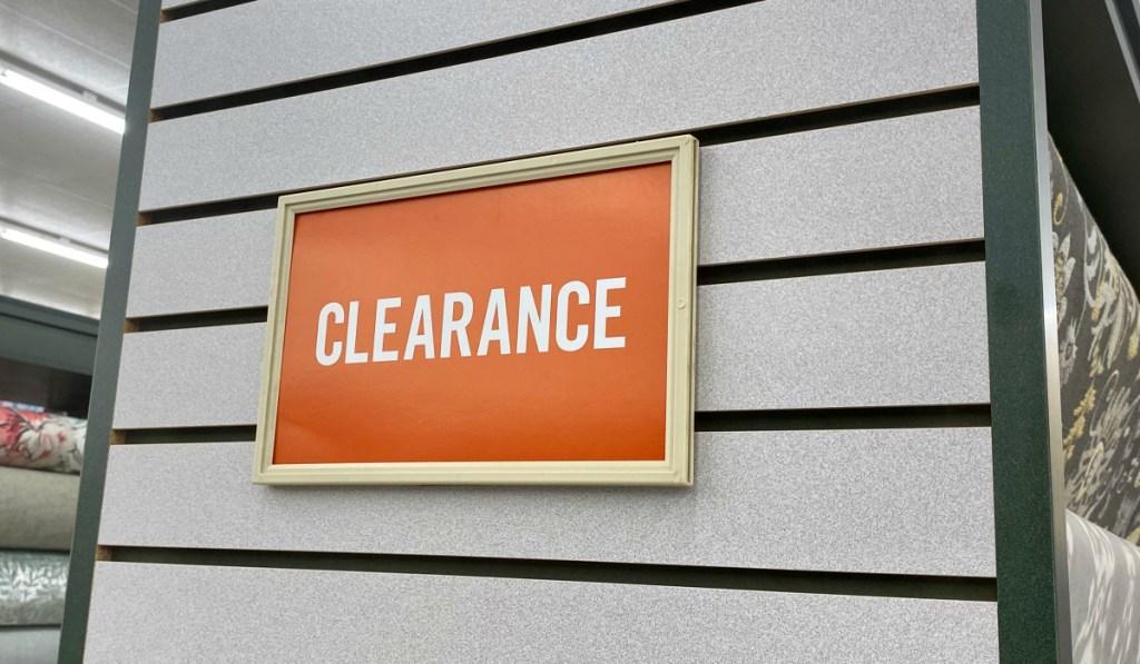 Hobby Lobby clearance