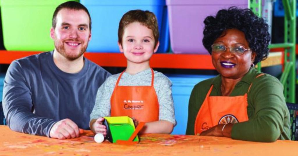 Home Depot Kids Workshop Free Putting Green On 6 1
