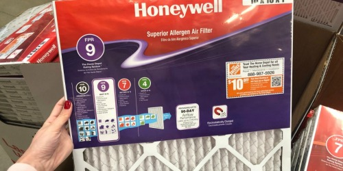 40% Off Honeywell Air Filters at Home Depot + Free Shipping