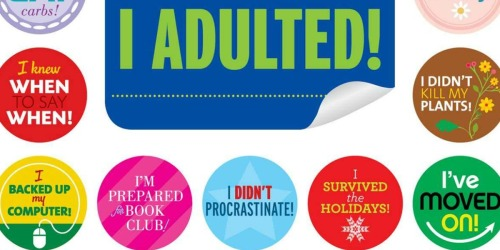 I Adulted! Calendar & Stickers for Grown-Ups Available to Pre-Order (Celebrate Life's Little Victories!)