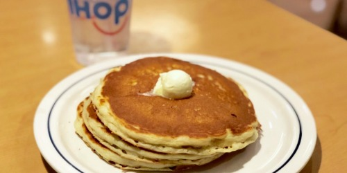 IHOP Pancakes Short Stack Only $1 on May 21st