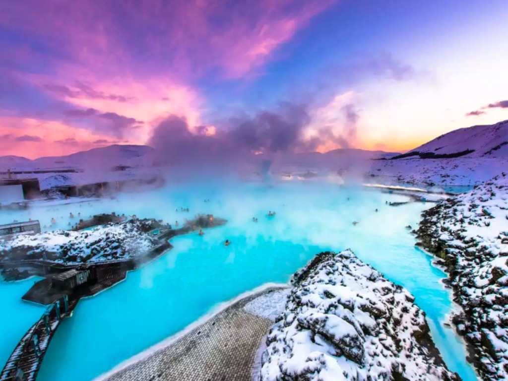 Iceland resort with water, snow and more