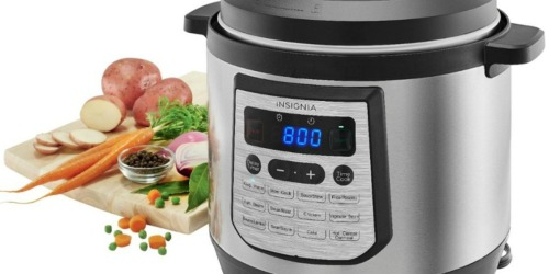 Insignia 8-Quart Multi-Function Pressure Cooker Only $39.99 Shipped at Best Buy | Great for Large Families