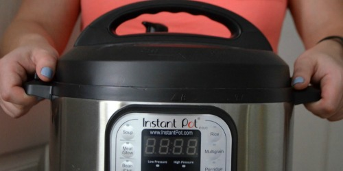 Instant Pot DUO 6-Quart Pressure Cooker Just $49.95 Shipped (Regularly $100)
