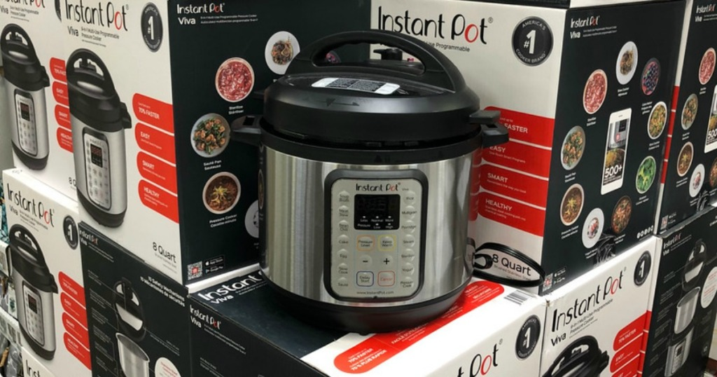 Sam's Club Instant Pot 8 Quart Viva 9-in-1 Multi-Use Programmable Pressure Cooker