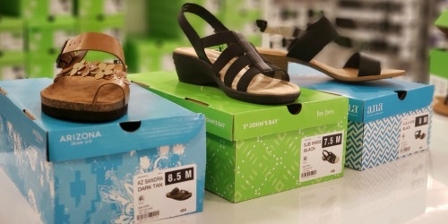 Buy One, Get Two FREE Women's Sandals at JCPenney.com (as Low as $7.67 Per Pair)