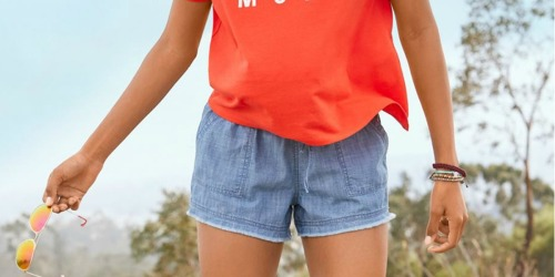 Buy One Pair of Women's Shorts, Get TWO Free at JCPenney