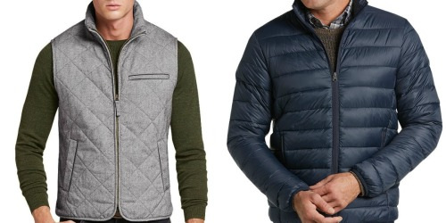 Up to 90% Off Jos.A. Bank Outerwear + Free Shipping