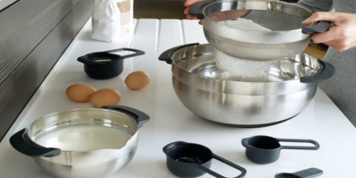 Over 75% Off Kitchen Items at Macy's = Nesting Steel Bowls & Measuring Cup Set Only $29.93 + More