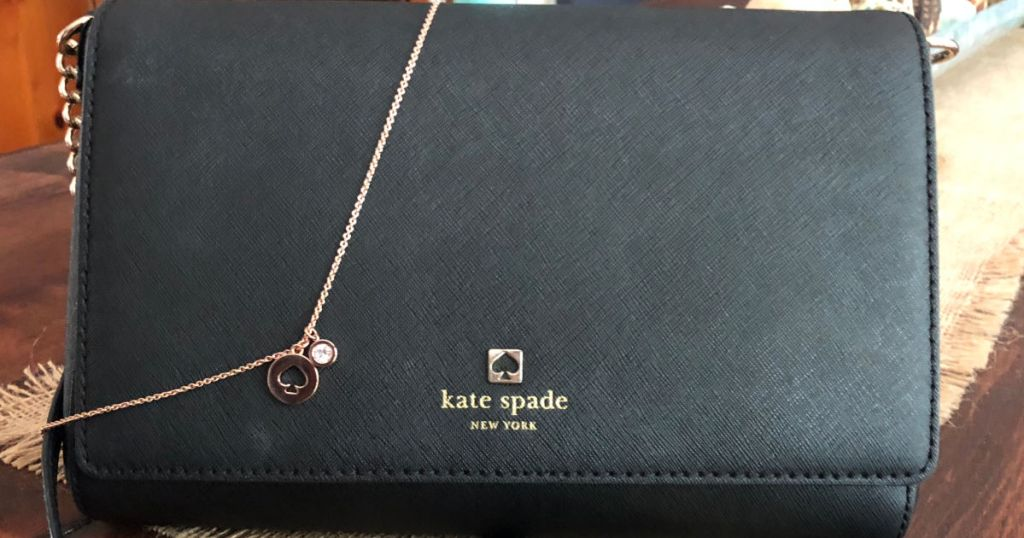 Kate Spade bag and necklace