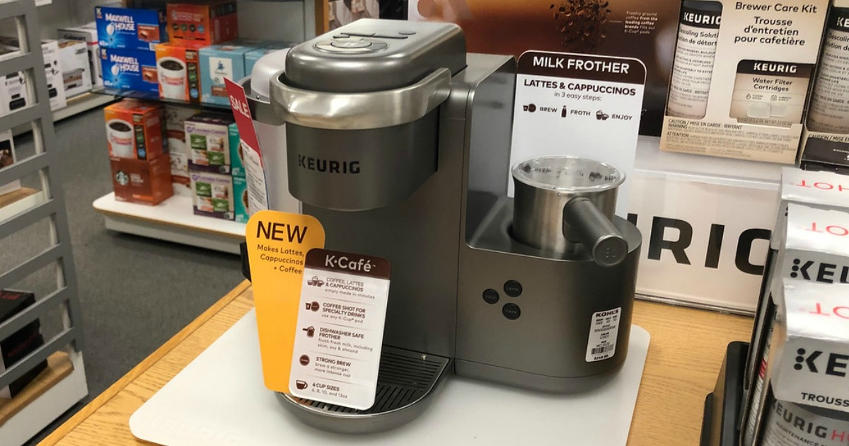 Keurig K-Café Single-Serve K-Cup Pod Coffee Maker