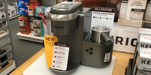 Keurig K-Cafe Coffee, Latte & Cappuccino Maker as Low as $113.99 Shipped + Get $20 Kohl's Cash