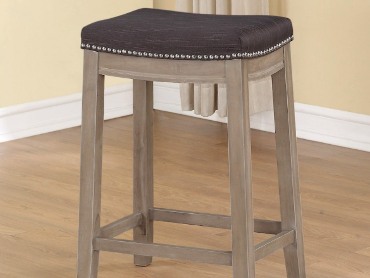 Kohl S Code Counter Stool W Nailhead Trim 39 Reg 100