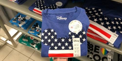 Matching Patriotic Family Tees at Kohl's as Low as $6 Shipped (Disney, Peanuts & More)