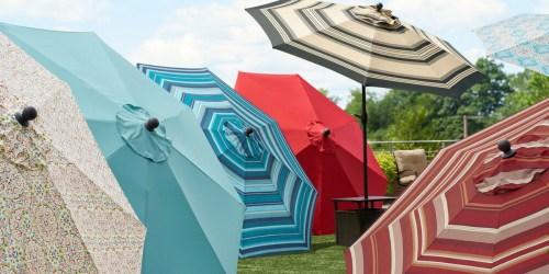 Sonoma Goods for Life 9′ Crank & Tilt Patio Umbrella Only $59.49 (Regularly $200) + Earn $10 Kohl's Cash