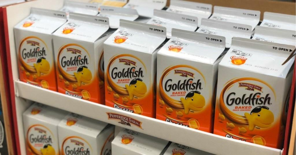 Kroger Goldfish Cartons