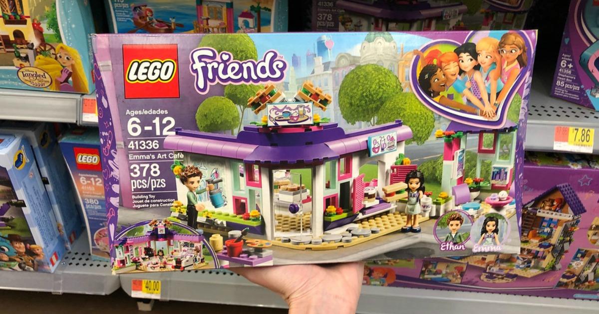 Amazon: LEGO Friends Emma's Art Café Set Just $19.99 ...