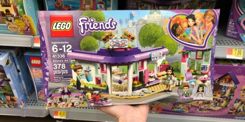 Amazon: LEGO Friends Emma's Art Café Set Just $19.99 (Regularly $33)