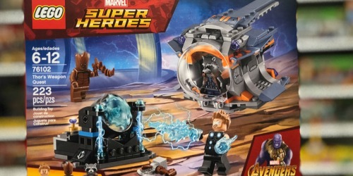 LEGO Marvel Super Heroes Thor's Weapon Quest Set Only $12.99 (Regularly $20)