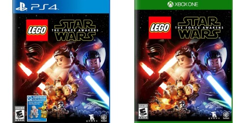 LEGO Star Wars The Force Awakens PS4 or Xbox One Game Just $9.99 at Best Buy (Regularly $19.99)