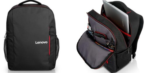 Lenovo 15.6″ Laptop Everyday Backpack $10.79 Shipped (Regularly $30)