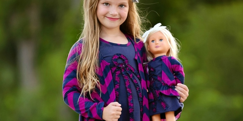 Adorable Matching Girl & Doll Outfits as Low as $14.99 at Zulily