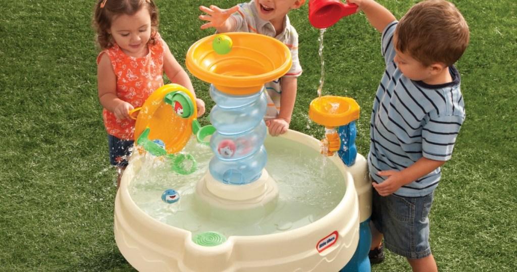 Little Tikes Spiralin Seas Waterpark Play Table Just 29 99