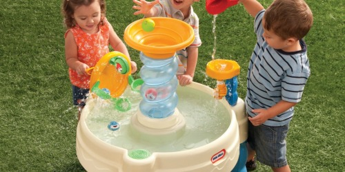 Little Tikes Spiralin' Seas Waterpark Play Table Just $29.99 Shipped (Regularly $45)