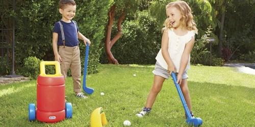 Little Tikes Easy Hit Golf Set Just $17.60 at Amazon (Regularly $27)