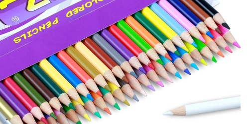 Lolliz Pre-Sharpened Colored Pencils 50-Pack Only $6.99 Shipped (Regularly $15)