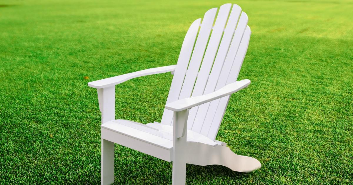 Mainstays Wood Adirondack Chair Just 67 Shipped