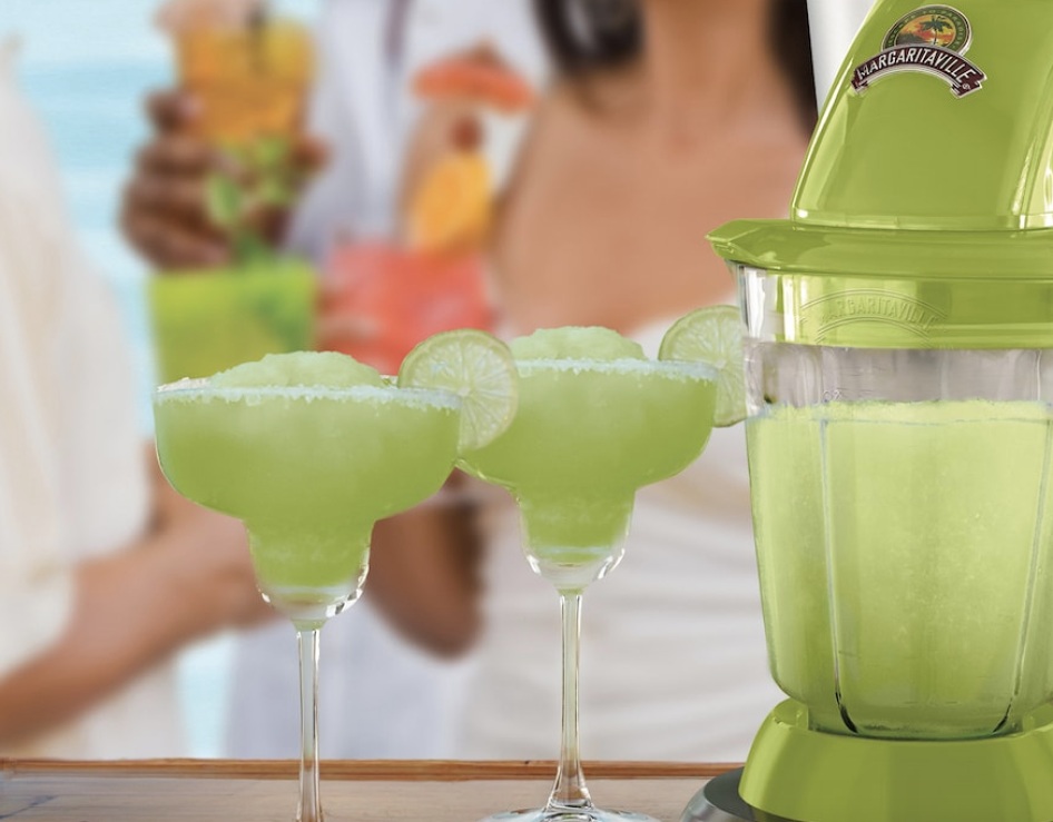 Frozen drinks made with Margaritaville Bahamas Frozen Concoction Maker