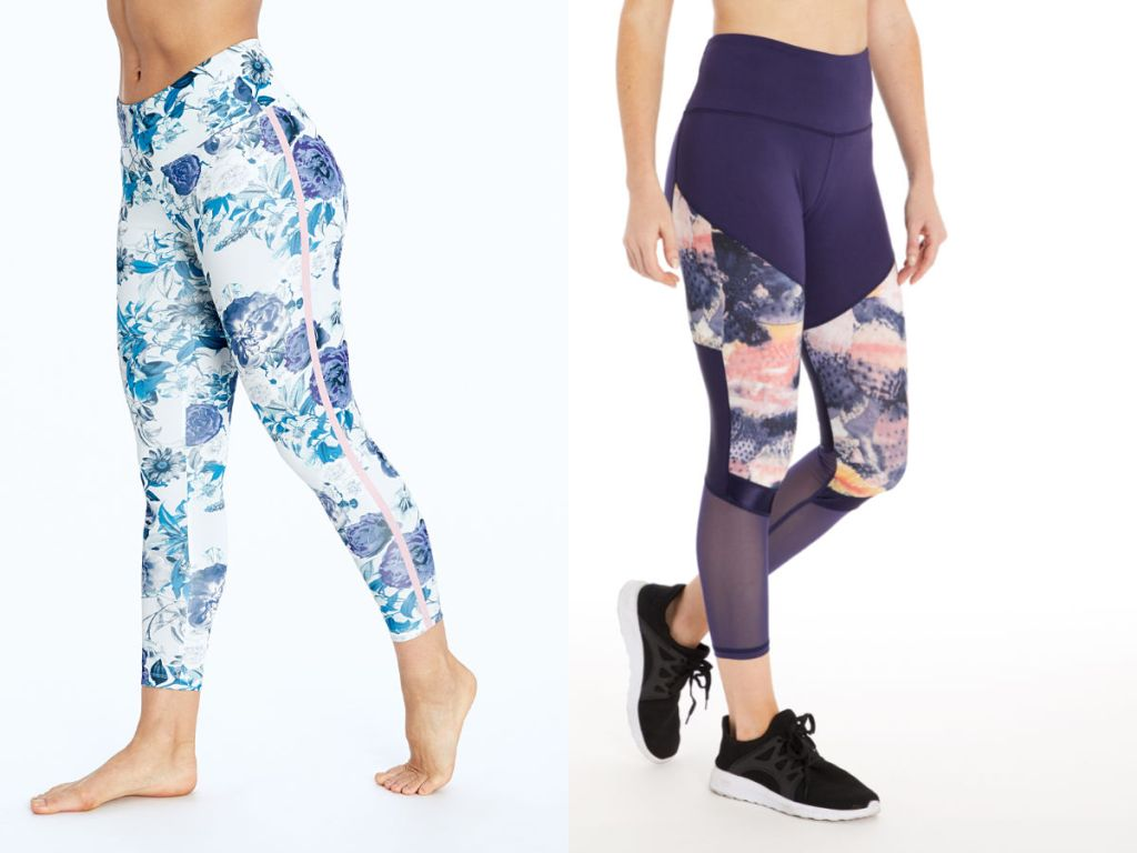 4c373ccaa716f ... Bally Total Fitness and Balance Collection. You'll spot both full and  Capri length leggings in over 50 different styles, colors, and patterns.