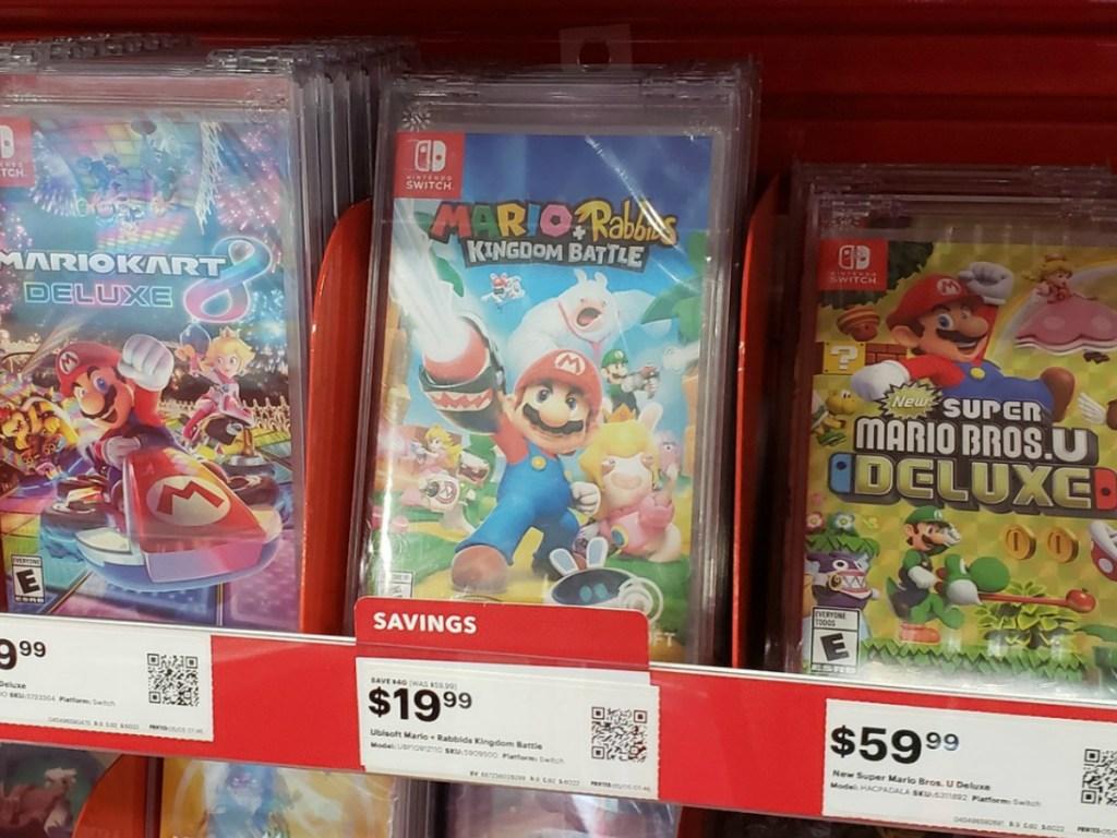 Mario Rabbids at Best Buy